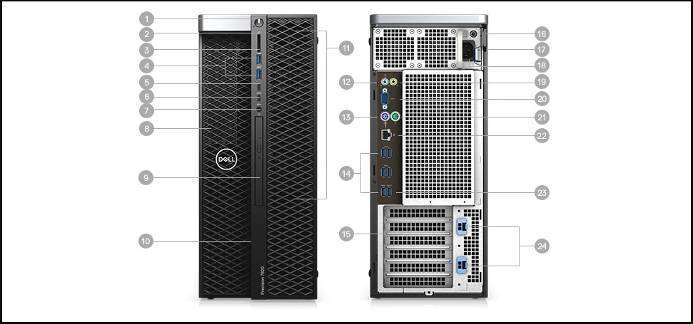 Dell Precision Tower 7820 4112