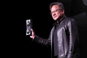 CEO Nvidia dìm hàng card đồ họa Radeon VII 7nm đầu tiên ...