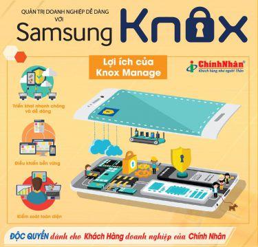 Samsung Knox giải pháp đột phá giúp doanh nghiệp bảo mật thiết bị di động