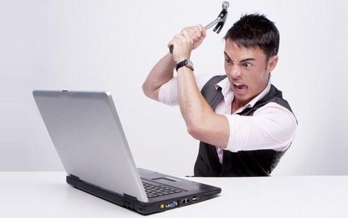 Laptop gặp sự cố