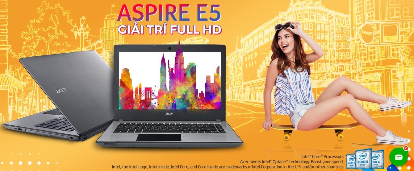 ACER Aspire 5 - Laptop tuyệt vời cho sinh viên online mùa chống dịch