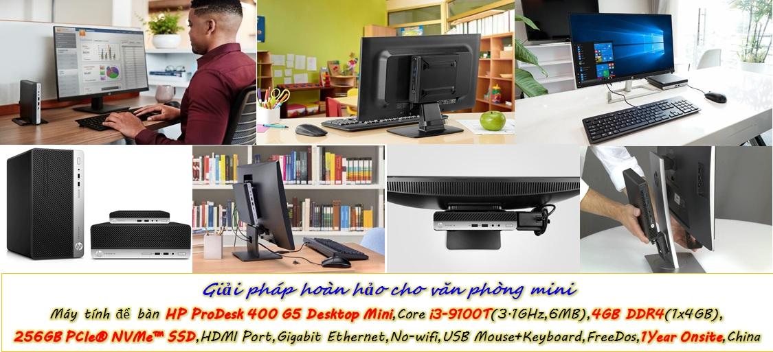 HP ProDesk 400 G5 Desktop Mini – Lựa chọn hoàn hảo cho văn phòng thông minh