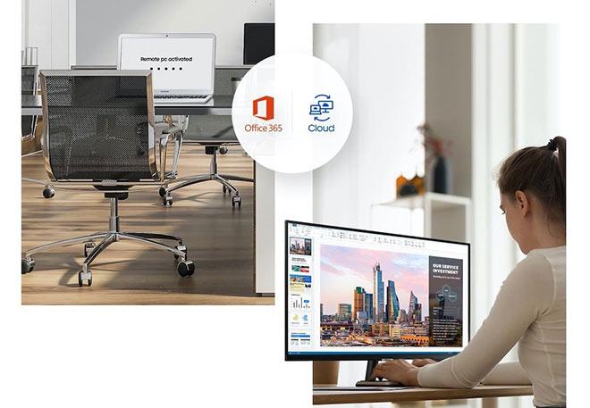 Màn hình Thông Minh Samsung Smart Monitor M7 và M5 : Do It All - Làm Tất Cả