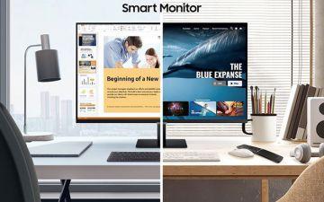 Màn hình Thông Minh Samsung Smart Monitor M7 và M5 : Do It All - ...