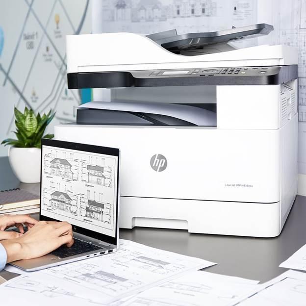 Giải pháp máy in LaserJet MFP M436DN và LaserJet MFP M436N của HP cho doanh nghiệp vừa và nhỏ