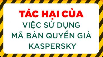 Cách phân biệt thẻ cào mã bản quyền Kaspersky thật - ...