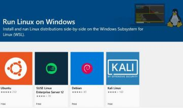 Nhân Linux tích hợp sẵn cho Windows 10 của Microsoft đã ...