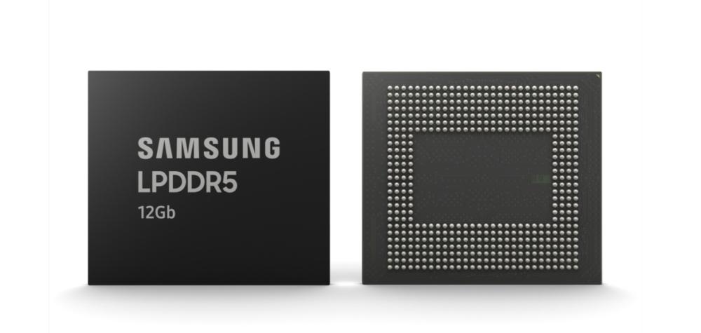 Samsung tiên phong sản xuất DRAM di động 12Gb LPDDR5 cho smartphone