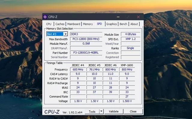 Cách nâng cấp máy tính dành cho người không chuyên? Kiểm tra Ram trên CPU z