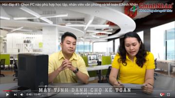 Chọn PC nào phù hợp học tập, nhân viên văn phòng và ...