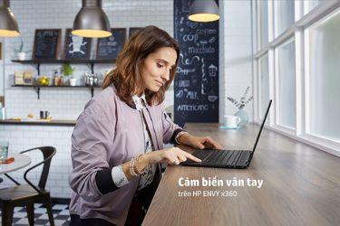 Thoải mái phóng khoáng với laptop HP ENVY x360
