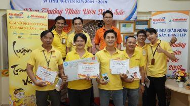 Kết quả giải đấuLUẬN CỜ TRANH VƯƠNG lần 1 tại Công Nghệ Chính Nhân