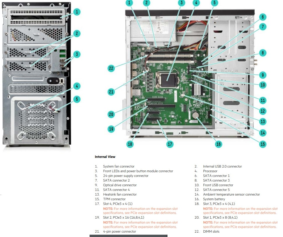 HPE ProLiant ML10 Generation9 (Gen9)