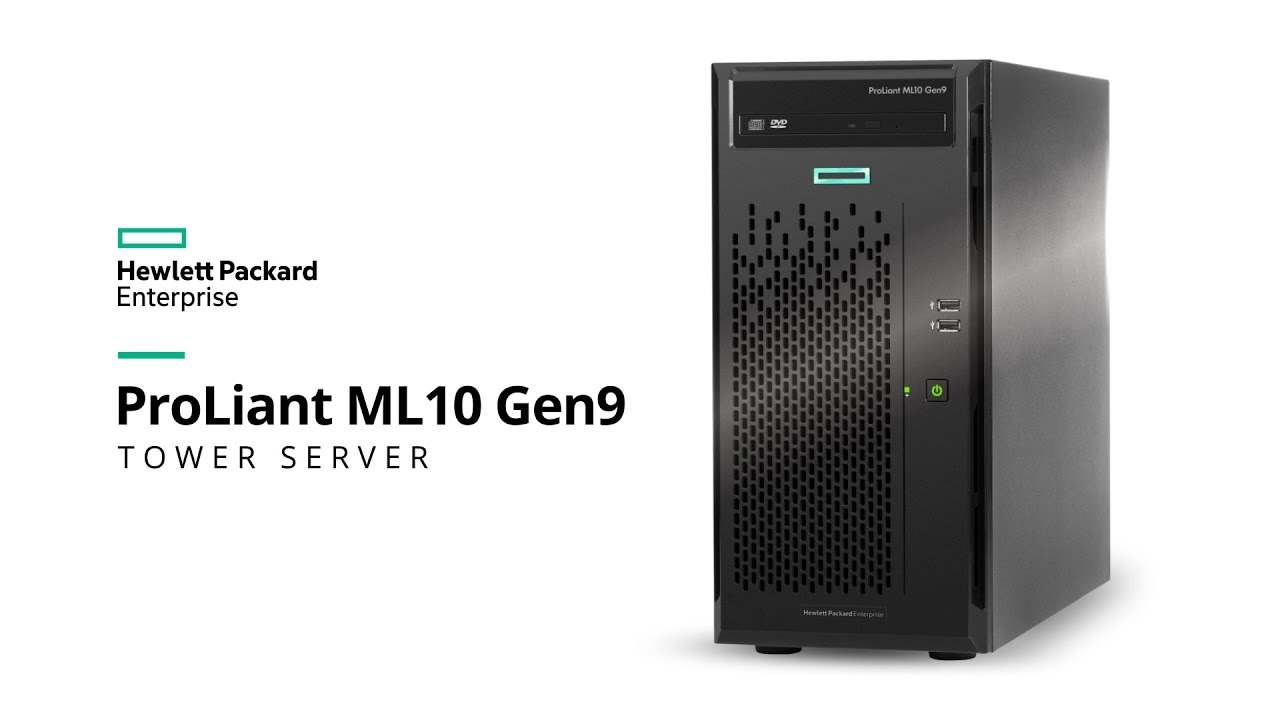 Tower HPE ProLiant ML10 Gen9 Server