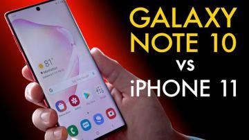 Galaxy Note 10 và iPhone 11: Cuộc đua ngôi đầu của lớp ...