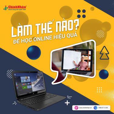 Làm thế nào để học online hiệu quả ?
