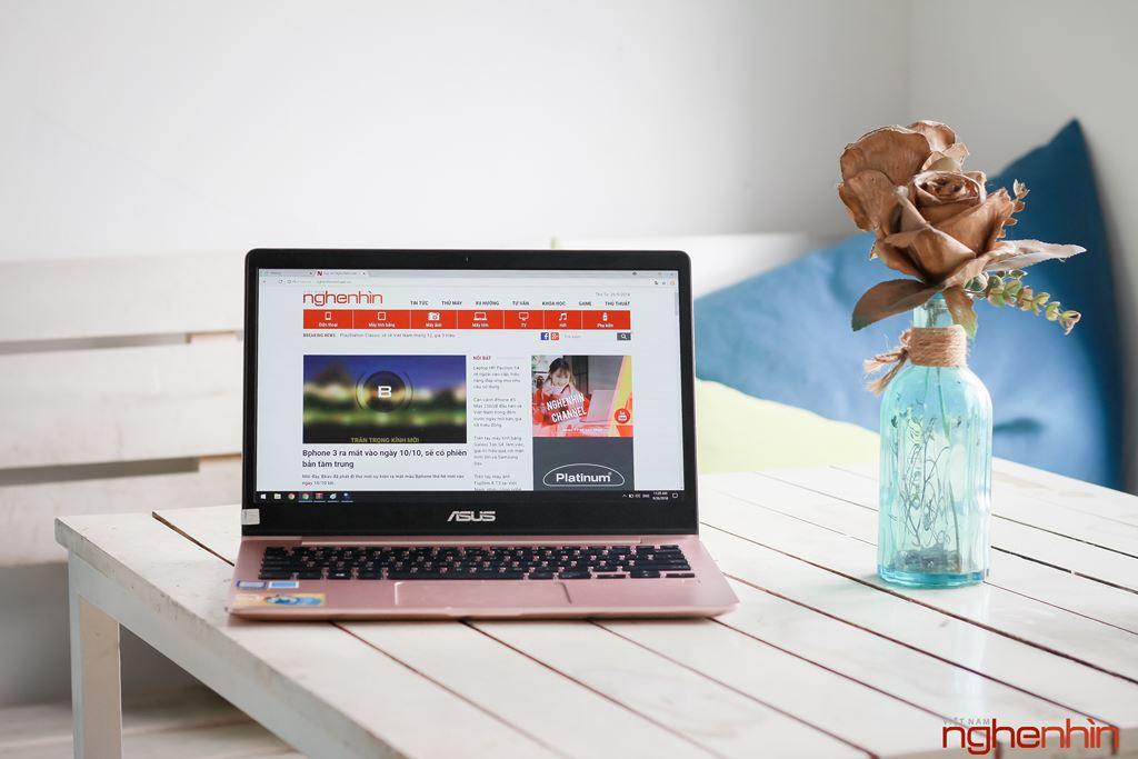 Đánh giá laptop siêu nhẹ siêu bền Asus Zenbook UX331 giá 30 triệu ảnh 7