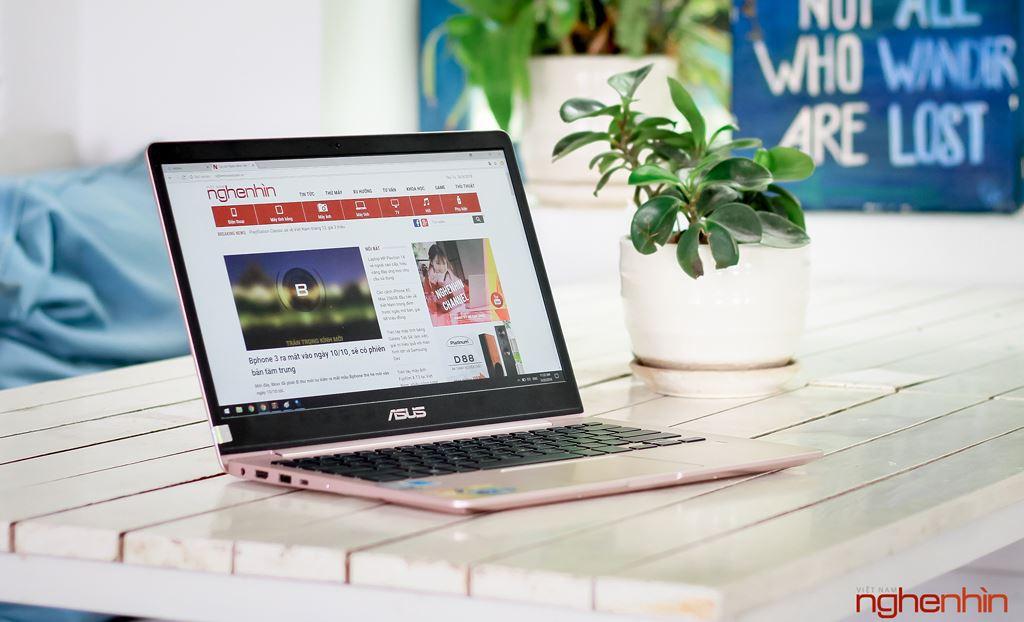 Đánh giá laptop siêu nhẹ siêu bền Asus Zenbook UX331 giá 30 triệu ảnh 8