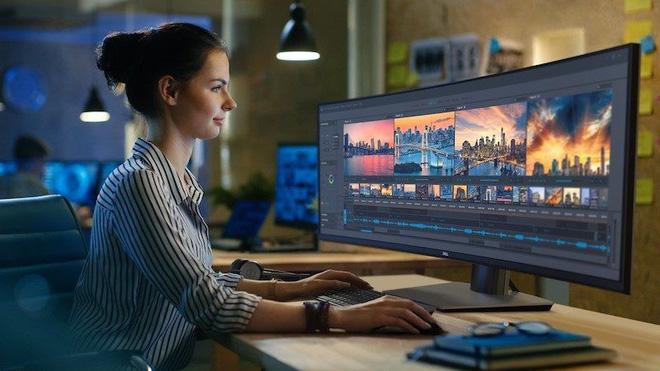 Dell ra mắt màn hình cong 49 inch Ultra-Wide với độ phân giải 5.120x1.440, giá bán 39,5 triệu đồng - Ảnh 1.