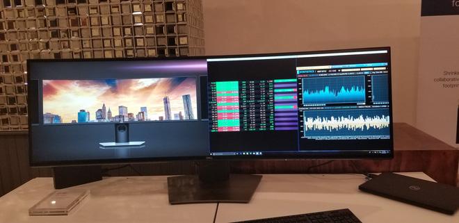 Dell ra mắt màn hình cong 49 inch Ultra-Wide với độ phân giải 5.120x1.440, giá bán 39,5 triệu đồng - Ảnh 3.