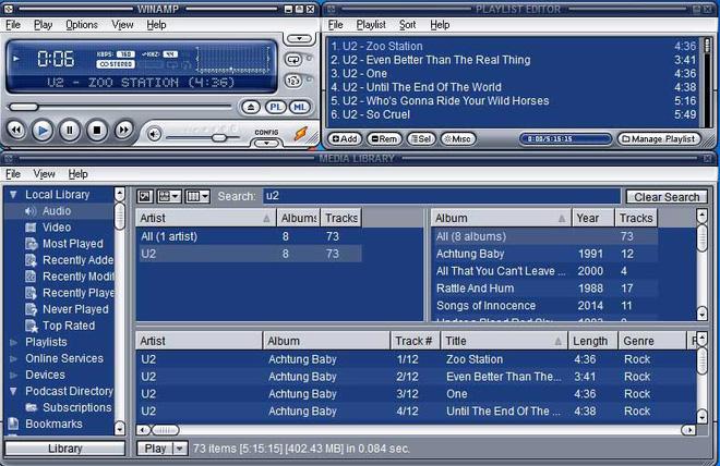 Ứng dụng nghe nhạc Winamp bất ngờ tái xuất sau 4 năm với phiên bản 5.8 - Ảnh 1.
