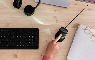Con chuột mới này của HP sẽ mang bảo mật vân tay đến với chiếc PC của bạn
