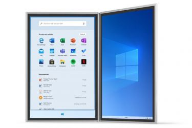 Microsoft tiết lộ những hình ảnh đầu tiên của Windows 10X, sẽ được trang bị cho cả laptop