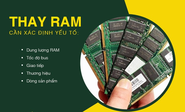 Thời điểm để thay RAM máy tính PC