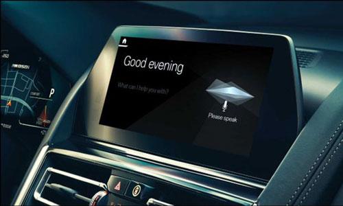 Cortana trở thành tiện ích cho các công ty khác tạo trợ lý ảo riêng. ẢNH: BMW
