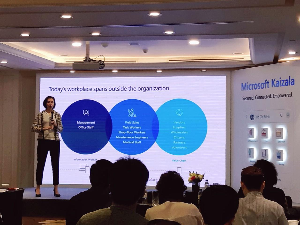 Ứng dụng Microsoft Kaizala sẽ mang đến những tính năng hoàn toàn mới dành cho doanh nghiệp, tích hợp với Office 365.