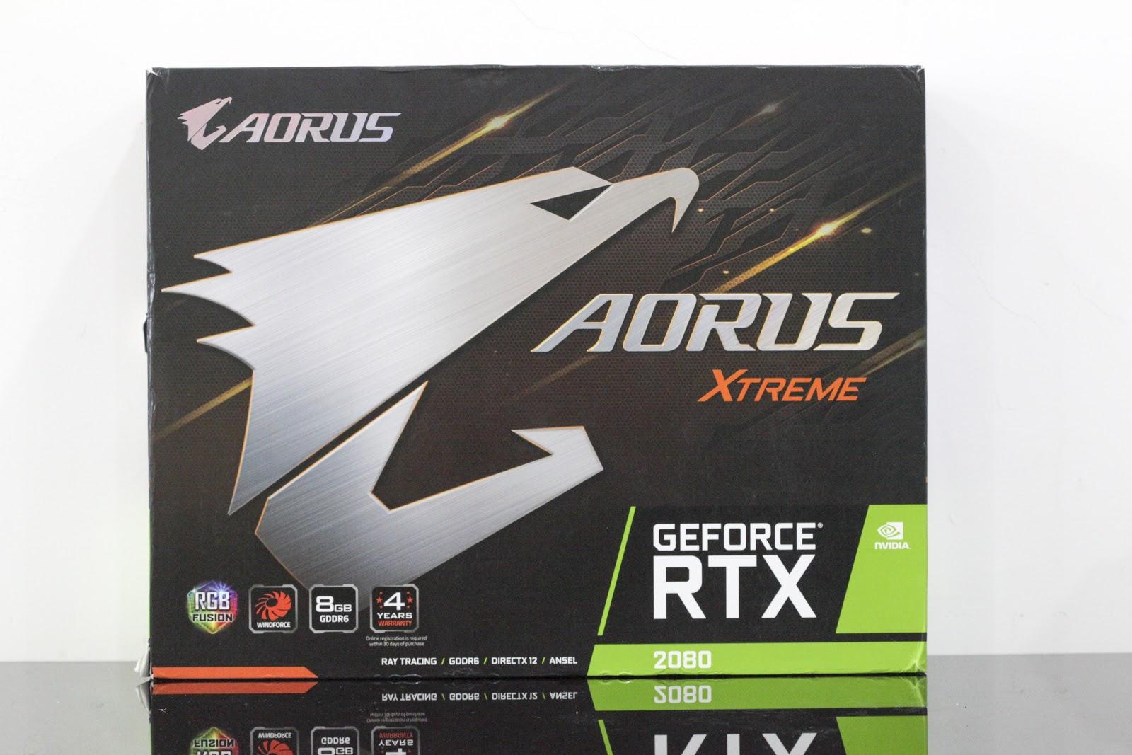 Gigabyte Aorus GeForce RTX 2080 Xtreme: chiếc card đồ họa đẹp nhất năm 2018 - Ảnh 1.