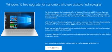 Vẫn có thể nâng cấp miễn phí Windows 10