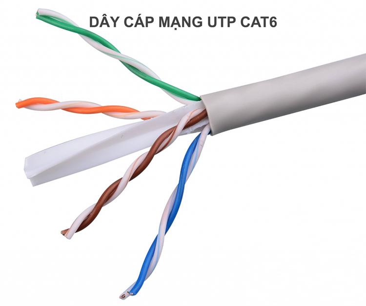 dây cáp mạng cat6