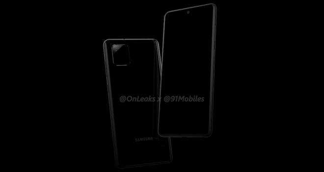 Galaxy Note 10 Lite lộ diện