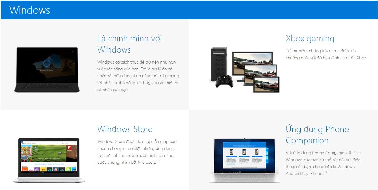 Windows 10 Pro VN- Windows PC làm được nhiều hơn. Giống như bạn.
