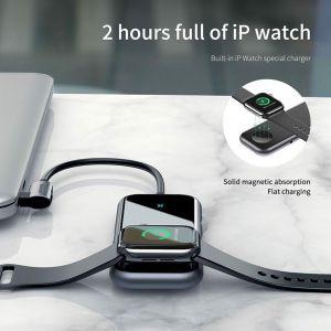 Hub chuyển đa năng tích hợp sạc Apple Watch Baseus Superlative Multifunctional 6 in 1 (Type-C to USB3.0 *2 + HDMI + Audio + PD + iWatch wireless charger)