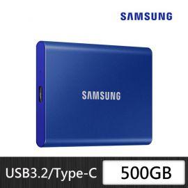 Samsung SSD T7 Portable 500GB Xanh