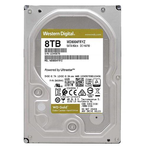Western 8TB Gold WD8004FRYZ