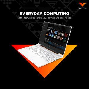 MÁY TÍNH XÁCH TAY HP VICTUS 16-E0179AX 4R0V0PA AMD RYZEN 5 5600H8GB/512GB/ RTX 3050TI 4GB/ 16.1INCH/WIN 10