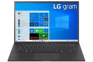 MÁY TÍNH XÁCH TAY LG 14Z90P G.AH75A5 I7/16GB/512GB SSD/14 inch/Windows 10/Obsidian Black