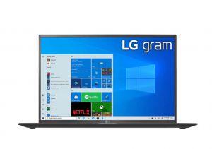 MÁY TÍNH XÁCH TAY LG 16Z90P G.AH75A5 I7/16GB/512GB SSD/Windows 10/Obsidian Black