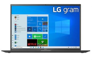 Máy tính xách tay LG 17Z90P G.AH78A5 I7-1165G7/16GB/1 TB SSD/Windows 10/Obsidian Black
