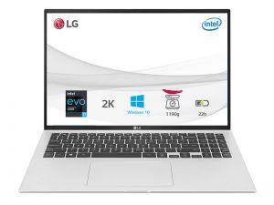 Máy tính xách tay LG 16Z90P G.AH73A5 Quartz Silver I7-1165G7/16GB/256GB SSD/16.0
