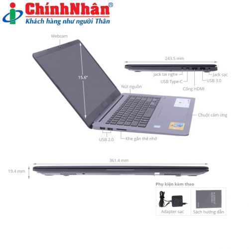 Asus VivoBook X510UA BR632T