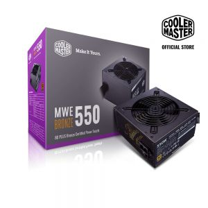 Nguồn COOLER MASTER MWE 550 BRONZE V2 230V