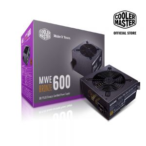 Nguồn COOLER MASTER MWE 600 BRONZE V2 230V