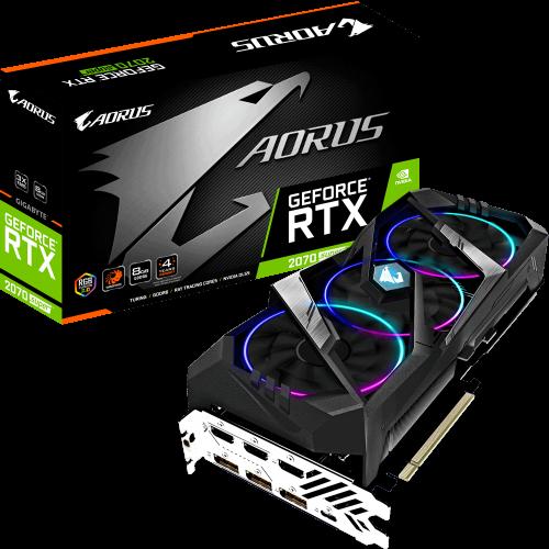 VGA Gigabyte AORUS GeForce RTX 2070 N207SAORUS-8GC
