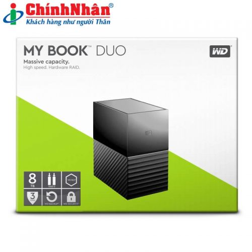 Western My Book Duo 8TB WDBFBE0080JBK