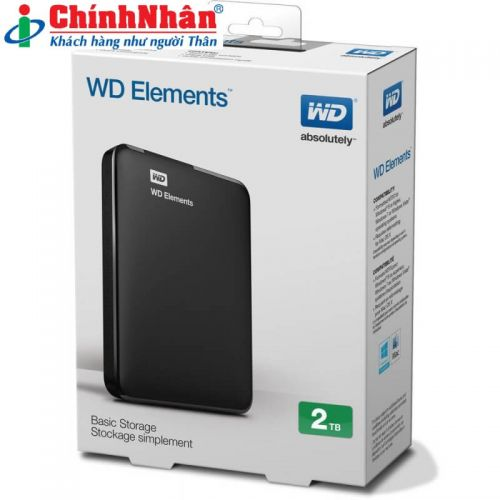 Western 2TB Elements Portable WDBU6Y0020BBK