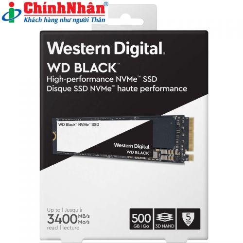 SSD Western M2-2280 500GB WDS500G2X0C